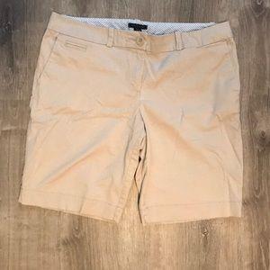 Khaki Bermuda shorts!